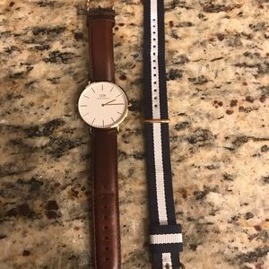 Daniel Wellington watch and extra band